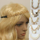 Retro Vintage Hippy Elastic Headband Hair Accessories Womens Head Piece Gatsby