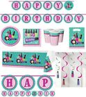Sparkling SPA Creative Converting Sparkle Spa Birthday Party Banner Plates Cups