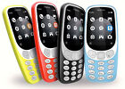 Genuine Nokia 3310 Cell Phone (unlocked) - Gsm - Brand New Sealed - Choose Color