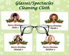 CHRISTMAS GLASSES CLEANING CLOTH RETRO MUSIC ARTIST  SECRET SANTA/STOCKING GIFT