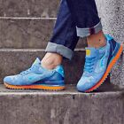 Men Running Shoes Pigskin Uppers Sport Shoes Damping Men Retro running shoes