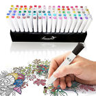 85 Hole Art Markers Pen Holder Storage Case For 60 80 Twin Tips Touch New Five