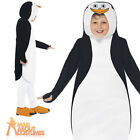 Child Madagascar Penguins Costume Kids Boys Girls Book Week Fancy Dress Outfit