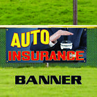 Auto Insurance Car Motorcycle Theft Protection Store Vinyl Banner Sign