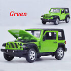 1:32 Alloy Diecast Car Model Sound&Light Collection Toy Jeep Wrangler Xmas Gift