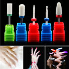 Nail Grinding Head Ceramic Drill Bits DIY Head Nail Tip Manicure Rotary Buffer.