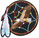 """10"""" Eagle Dream Catcher Feather Patch Iron on Sew Jacket Vest Suit Costume Craft"""
