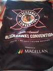 Chicago Blackhawk's 2017 Tenth Annual Convention Draw String Tote Bag ~ Rare