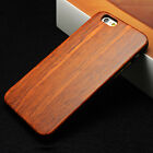 New Natural Wooden Bamboo +PC Hard Phone Case Cover for iPhone 6 6s Plus 7 5S