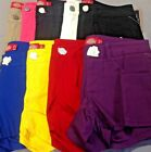 """Dickies Girl HH333 3"""" Miami 5 Pocket Mid-rise Shorts Stretch Twill"""