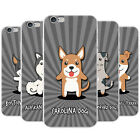 American Cartoon Dogs Snap-on Hard Back Case Phone Cover for Apple Mobile Phones