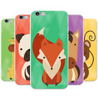 Geometric Modern Animals Snap-on Hard Back Case Phone Cover for Apple Phones