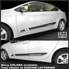 Dodge Dart 2013-2018 Lower Door Rocker Panel Side Stripes Decals (Choose Color) $34.3 USD on eBay