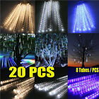 LOT20 8*30 144 LED Meteor Deluge Sprinkle Lights Waterproof Tubes Exert influence F Christmas
