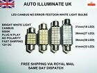 31mm 36mm 39mm 41mm Car Light Lamp Bulb Led Smd Error Free Canbus White Festoon