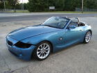 2003+BMW+Z4+Convertible+Salvage+Rebuildable+Repairable