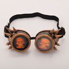 Steampunk Rivet Skull Goggle Glasses Spiked Halloween Fancy Dress Cosplay Props