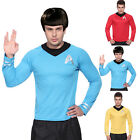 Gents Mens Star Trek Startrek Movie Scotty Kirk Spock Fancy Dress T-Shirt on eBay