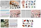 Birds Collection - Dove - Swallow - Swan Nail Art -  Temporary Tattoos - Sticker