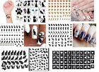 Cat  Collection Nail Art - Temporary Tattoos  - Stickers