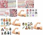 India Collection Nail Art - Temporary Tattoos - Stickers Diwali - Ganesha - Gods
