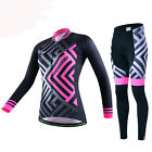 Women Bike Pants Cycling Jersey Race Fit Riding Bicycle Clothing Outfits Comfort