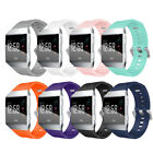 Silicone Band Rubber Strap Wristband Bracelet For Fitbit Ionic / Fitbit Alta HR