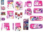 New 2017 My Little Pony Lunch Bag, Wallet, Backpack, Shoulder Bag, Bracelets