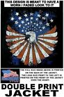 UNITED STATES AMERICA VETERAN AMERICAN PRIDE EAGLE FLAG PATRIOTIC USA JACKET 505