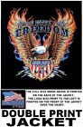 ENJOY FREEDOM THANK A VETERAN AMERICAN EAGLE PRIDE FLAG PATRIOTIC JACKET WS580