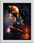 Poster,Oil Painting HD Canvas Giclee Print/Home Art Decoration Wall Star Wars