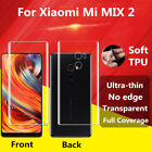 Full Cover TPU Front Back Screen Protective Film Shield For Xiaomi Mi MIX 2 Lot