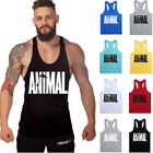 Men's Sport Gym Workout Fitness Stringer Weight Loss Singlets Vest Shirt Clothes
