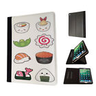 950 sushi rolls food Case Flip Cover For Kindle Fire Apple ipad Air Mini