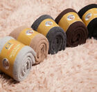 3 Pair Men's Thickened Wool Blend Winter Solid Color Warm Socks