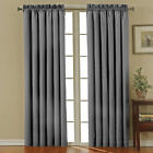 """Eclipse Canova Polyester and Thermaback 0.25"""" Blackout Window Curtain with"""