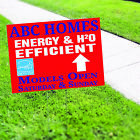 Home Energy Efficient Models Open Saturday and Sunday Energy Star Yard Sign