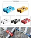 Paired  Alloy Hexagonal Column Rocket Mountain Bike Cycling Pedals Foot Stunt