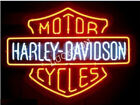 New HD Haley Harly Davidson Motorcycle Bike Real Glass Beer Bar Neon Light Sign