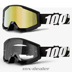 100 % Prozent Brille Strata Outlaw schwarz Motocross Enduro Downhill Cross Quad