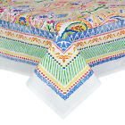 TABLECLOTH BRIGHT COLOURFUL PAISLEY DESIGN CHOOSE FROM 180RD 150X230 OR 150X270