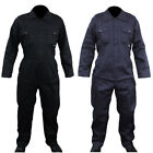 Mens Navy Boilersuit Overall Coverall Workwear Mechanics Stud Front POWCOG