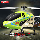 Earnest Syma S8 3 Channels RC Helicopter Gyro Remote Control Aircraft X'mas Gift