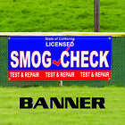 Smog Check Licensed Test & Repair State of California Banner Sign