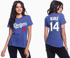 Kike´ Hernandez Los Angeles Dodgers #14 MLB Jersey Style Women's Graphic TShirt on Ebay