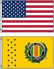3x5 USA American Flag & Vietnan Veteran Flag 3' x 5' WHOLESALE LOT Flags