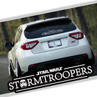 Star Wars Stormtroopers Car Auto Vinyl Decal Sticker Reflective Windshield New $7.99 USD