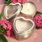 Light For Love Collection Heart Candle Favor Tins - Wedding Favors / FC-4735