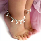 Baby Gungroo Beautiful Baby Silver Jingly Anklet Bracelet Anklet -Adjustable