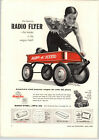 1955 PAPER AD Radio Flyer Red Coaster Wagon Rex Line